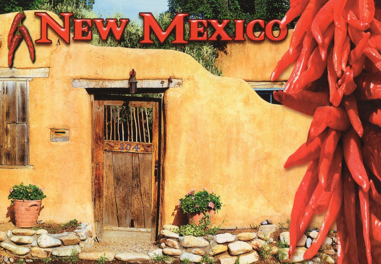 Santa Fe`s gate, New Mexico