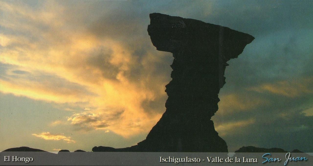 National park Ischigualasto,  Valle de la Luna, San Huan,Argentina
