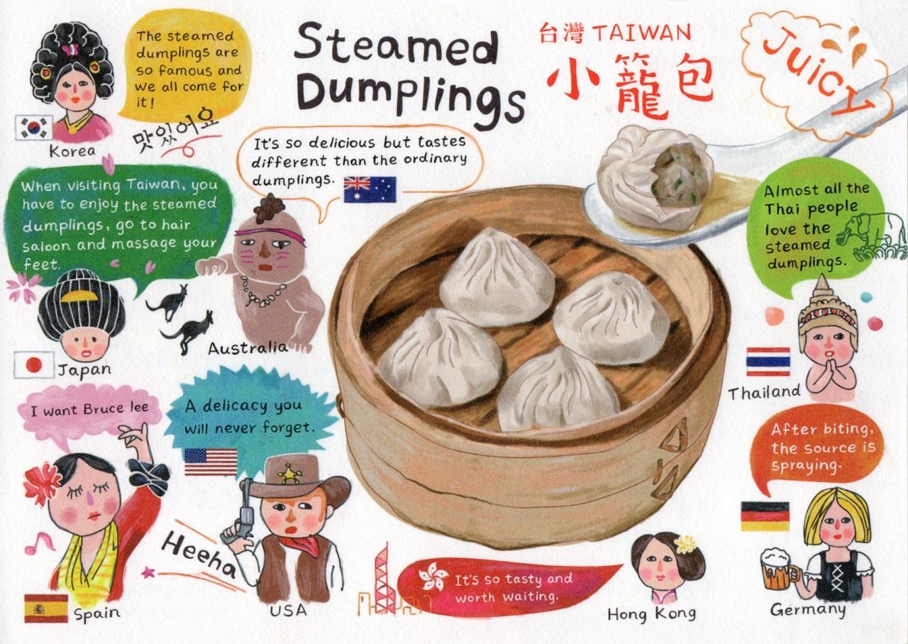 Steamed Dumplings fromTaiwan