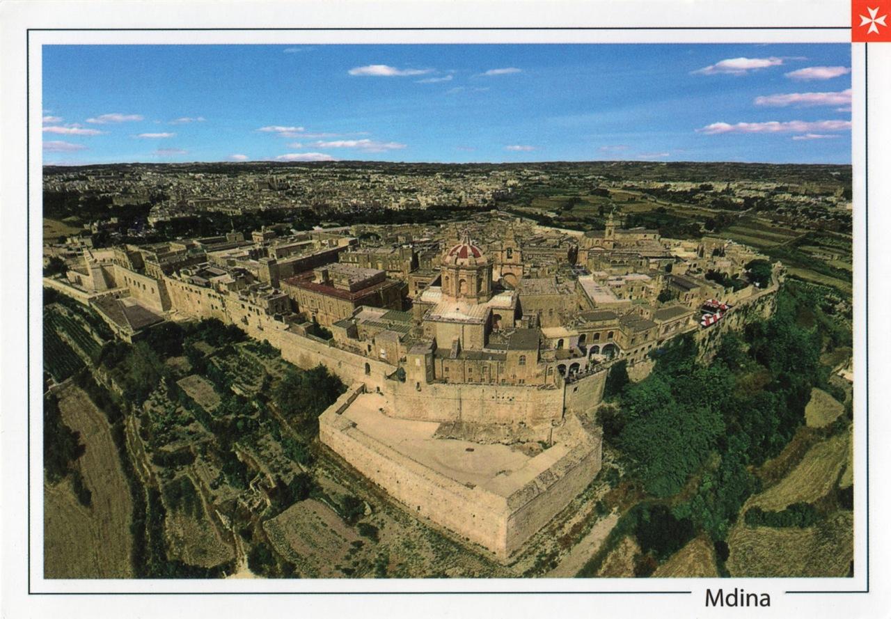 The walls ofMdina