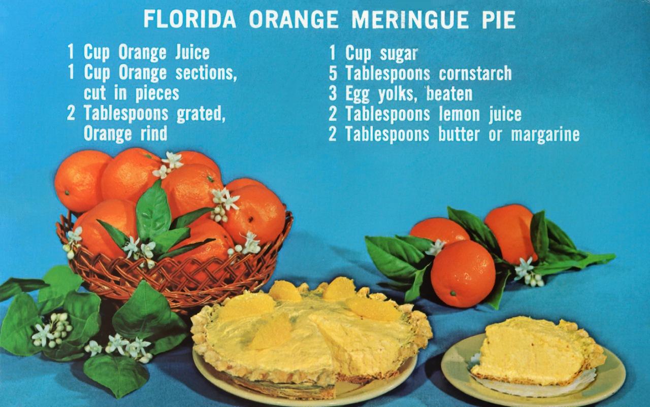Florida Orange MeringuePie