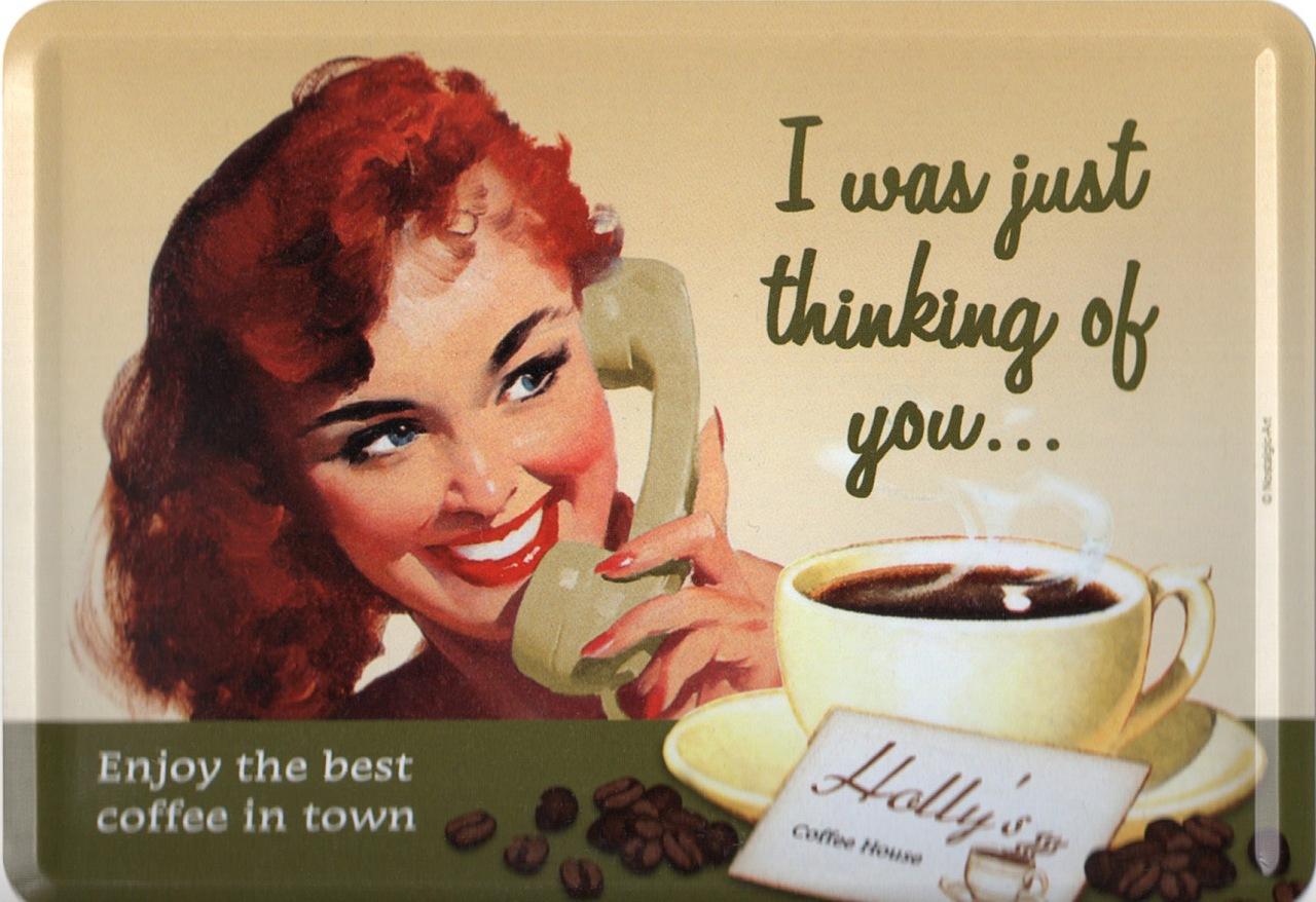Thinking Of Coffee