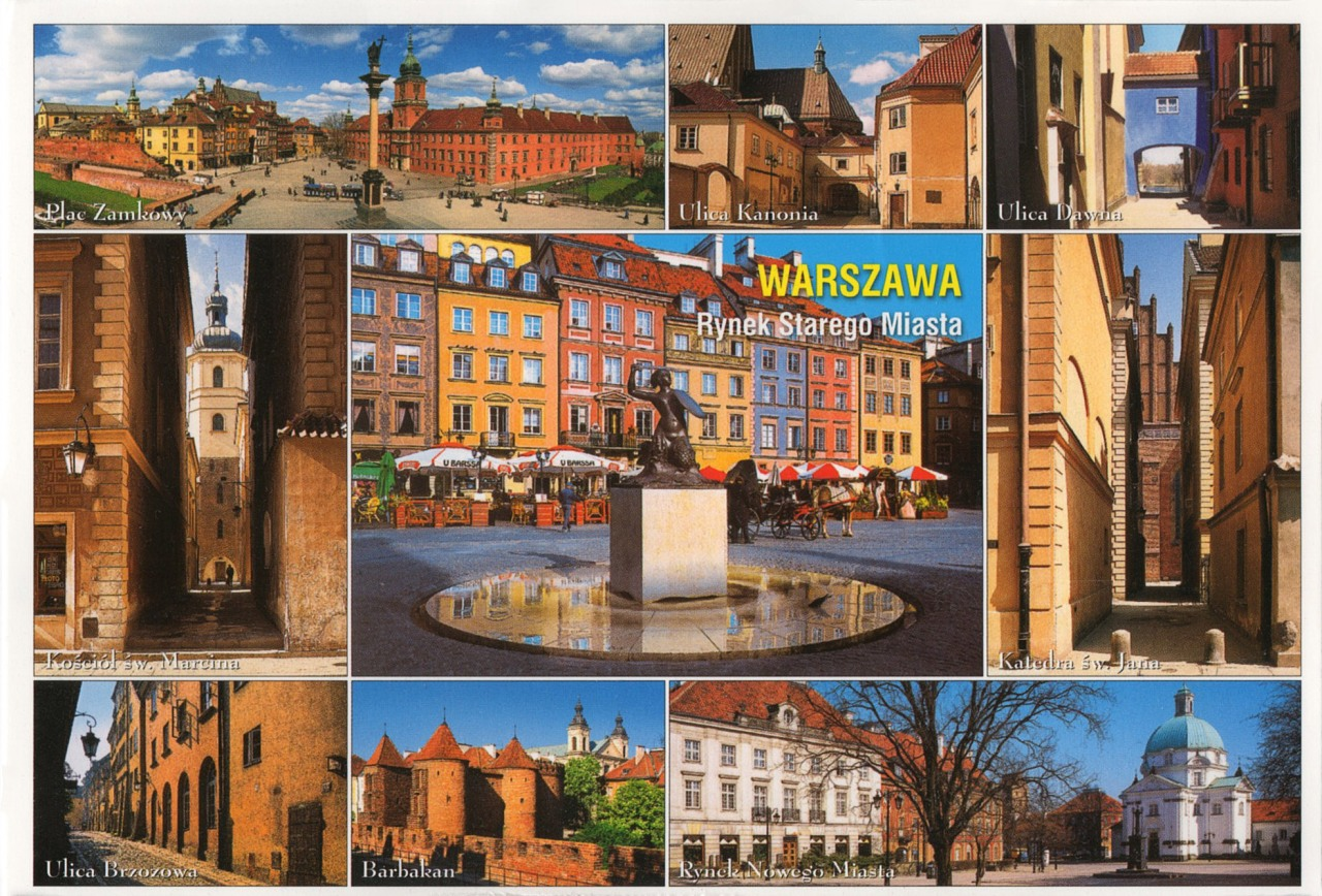 The Old Town of Warsaw